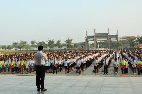 第五周国旗下讲话:我的中国梦
